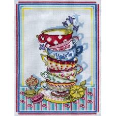 """Набор для вышивания Panna  КТ-1641 """"Волшебный фарфор"""""""