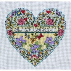"""Набор для вышивания Panna Л-1642 """"Сердечко с любовью"""""""