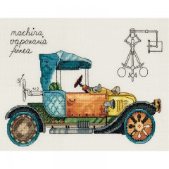 Набор для вышивания Panna М-7061 Машина механическая