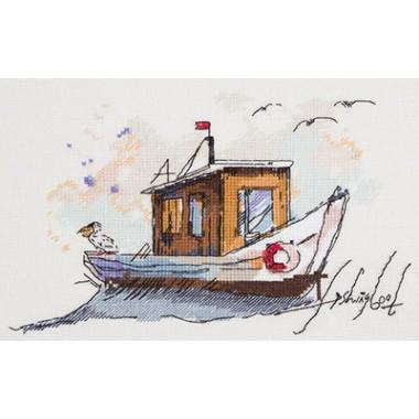 """Набор для вышивания Panna МТ-1940 """"Рыбацкая лодка"""""""
