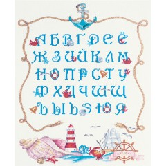 """Набор для вышивания Panna МТ-1945 """"Морской алфавит"""""""