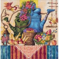 Набор для вышивания Panna Н-1995 Натюрморт с лейками
