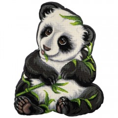 """Набор для вышивания Panna ПД-1910 Подушка """"Моя панда"""""""