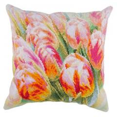 """Набор для вышивания Panna ПД-1916 """"Весенние цветы. Подушка"""""""