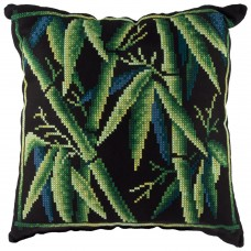 Набор для вышивки крестом Panna ПД-1991 Подушка Бамбук