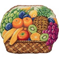 Набор для вышивания Panna ПД-7051 Фруктовое лукошко