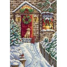 Набор для вышивания Panna ПР-7017 В канун Рождества