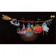 Набор для вышивания Panna ПР-7060 Чердачная гирлянда