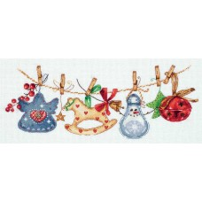 Набор для вышивания Panna ПР-7085 Праздничная гирлянда
