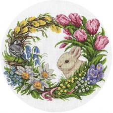 """Набор для вышивания Panna ПС-1787 """"Весенний венок"""""""
