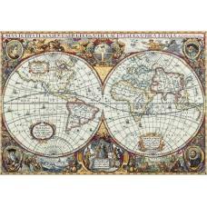 """Набор для вышивания Panna ПЗ-1842 """"Географическая карта мира"""""""