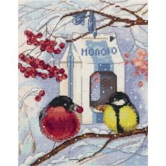 Набор для вышивания Panna РТ-7078 Зима в городе