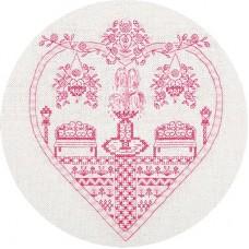 Набор для вышивания Panna СО-1768 Розовый сад