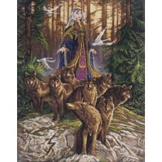 Набор для вышивки крестом Panna СО-1857 Сила Новолетия