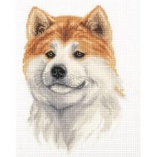 Набор для вышивания Panna Ж-7052 Акита-ину