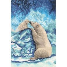 Набор для вышивания Panna Ж-7082 Мишки на Севере