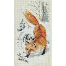 Набор для вышивания Panna Ж-7111 По первому снегу