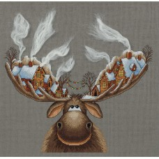 Набор для вышивания Panna ЗМ-7103 Рождественский лось