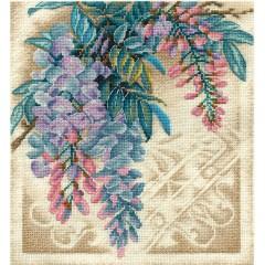 Набор для вышивания Panna Ц-1760 Прекрасная вистерия