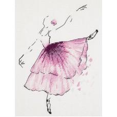 Набор для вышивания Panna Ц-1886 Балерина. Анемон