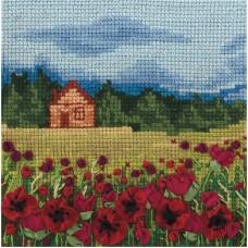Набор для вышивания Panna ПС-1244 Маковое поле