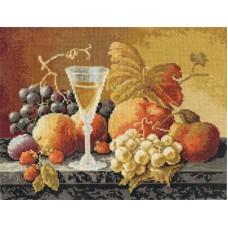 Набор для вышивания Panna Н-1234 Натюрморт с вином и фруктами
