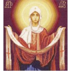 Набор для вышивания Panna ЦМ-1270 Икона Божией Матери Покров Пресвятой Богородицы