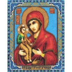 Набор для вышивания Panna ЦМ-1277 Икона Божией Матери Троеручица (бисер)