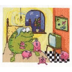 Набор для вышивания Panna ВК-1283 Жаб дома