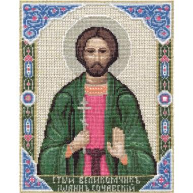 Набор для вышивания Panna ЦМ-1311 Икона Святого Великомученика Иоанна Сочавского