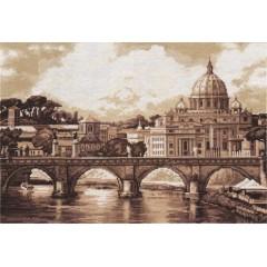 Набор для вышивания Panna ГМ-1332 Рим. Собор святого Петра