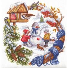 Набор для вышивания Panna Д-1347 Зимние забавы