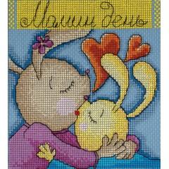Набор для вышивания Panna ОТ-1357 Праздничные миниатюры. Мамин день