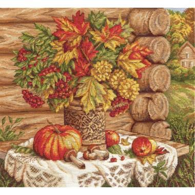 Набор для вышивания Panna Н-1392 Осенний натюрморт
