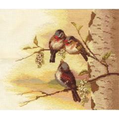 Набор для вышивания Panna ПТ-1388 Весенняя мелодия