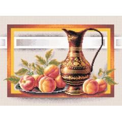 Набор для вышивания Panna Н-0295 Натюрморт с персиками