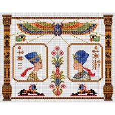 Набор для вышивания Panna ЕМ-0309 Нефертити и Эхнатон