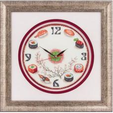 Набор для вышивания Panna Ч-1415 Часы. Суши
