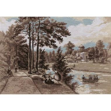Набор для вышивания Panna ПС-1417 Отдых на берегу реки