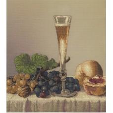 Набор для вышивания Panna Н-1425 Натюрморт с бокалом вина
