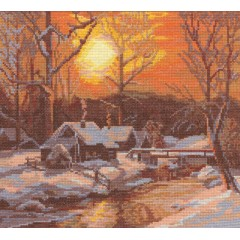 Набор для вышивания Panna ПС-0378 Зимнее утро