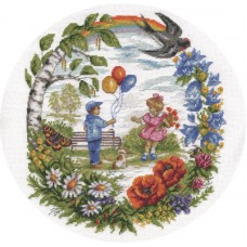 Набор для вышивания Panna Д-1471 Летние деньки