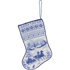 Набор для вышивания Panna ПР-1479 Рождественский сапожок