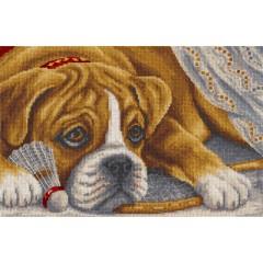 Набор для вышивания Panna Ж-1541 Игрок