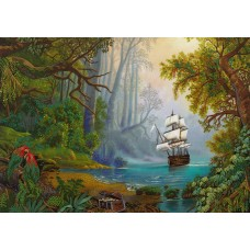 Набор для вышивания Panna ЖК-2030 Остров сокровищ