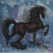 Набор для вышивания Panna Ф-1547 Черный красавец