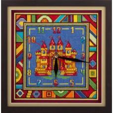 Набор для вышивания Panna Ч-1562 Часы с замком