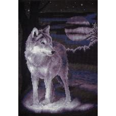 Набор для вышивания Panna Ж-0462 Белый волк