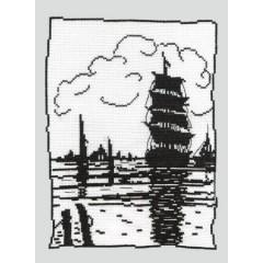 Набор для вышивания Panna КР-0451 Парусник
