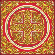 Набор для вышивания Panna ПД-0457 Золотой орнамент (Подушка)